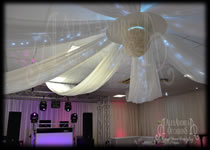Ceiling Drape Canopy Mill House Dagenham Essex