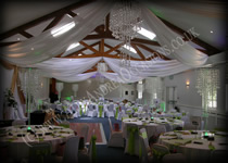 Ceiling Drape Swags Hertfordshire