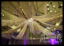 Wedding Ceiling Canopy - Manor Of Groves Essex