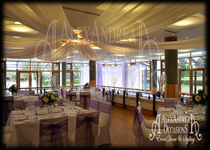 Wedding Decorations Fanhams Hall Hertfordshire