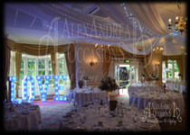 Wedding Decorations Hanbury Manor Hertfordshire
