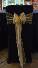 Black Chair Cover Hire Hertfordshire