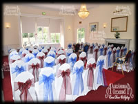 Wedding Chair Cover Hire Essex - Manor Of Groves