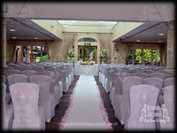 Wedding Ceremony Chair Cover Hire Essex Orsett Hall