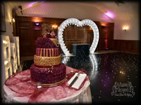 Wedding Heart Arch Hire London Essex