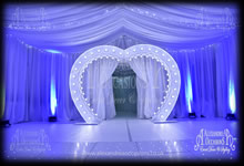 Wedding Heart Arch Hire Hertfordshire & Essex