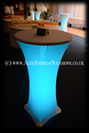 Cocktail Table Hire Essex Hertfordshire