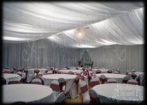 Marquee Style Drapes Full Room Drapery Essex Hertfordshire